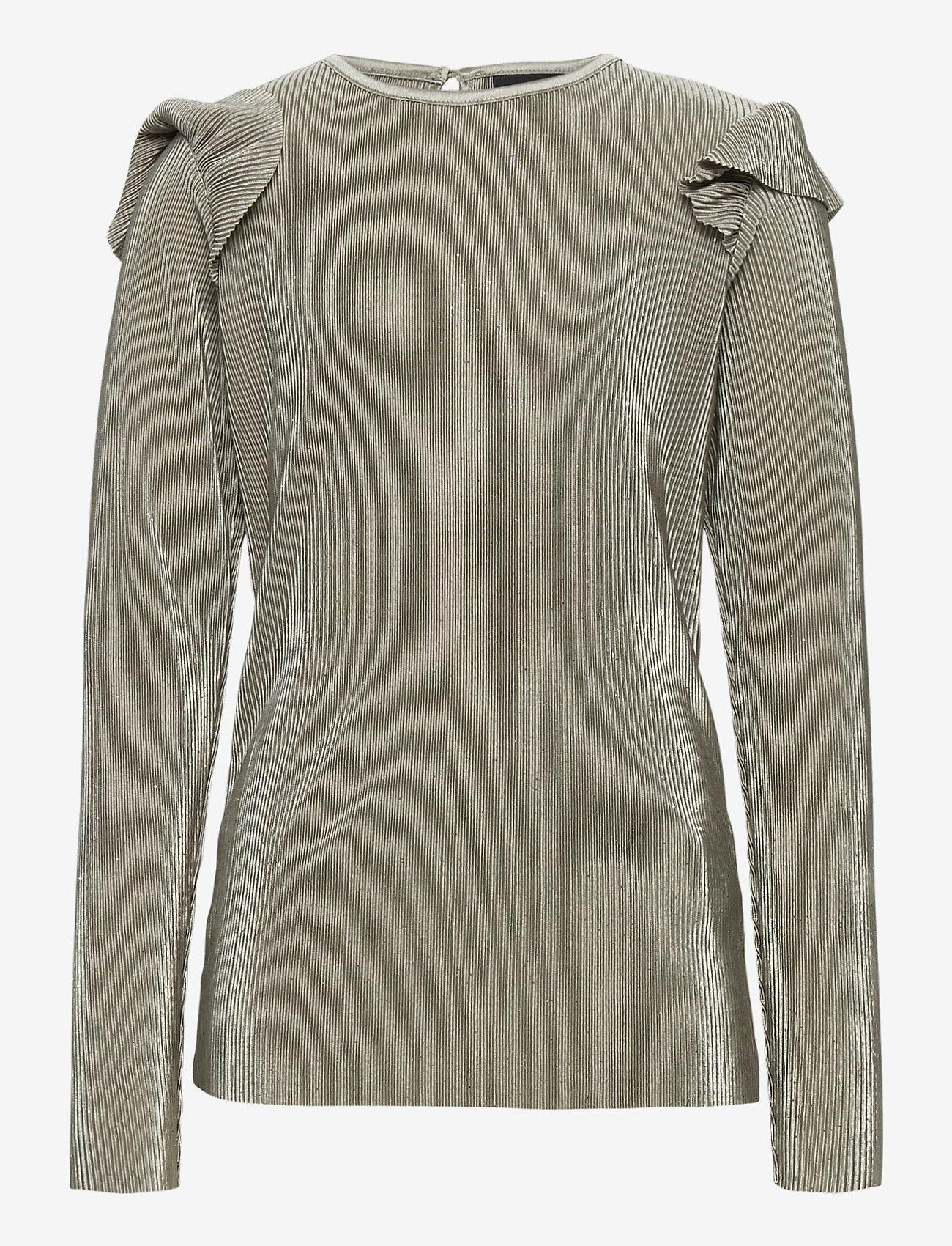Petit by Sofie Schnoor - Blouse - bluser & tunikaer - grey - 0