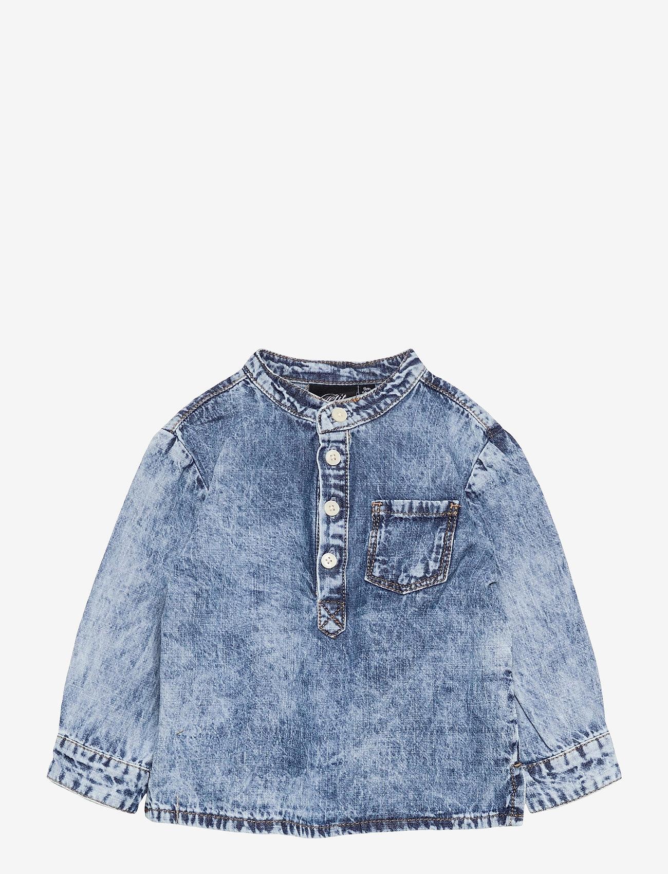 Petit by Sofie Schnoor - Shirt - shirts - blue - 0