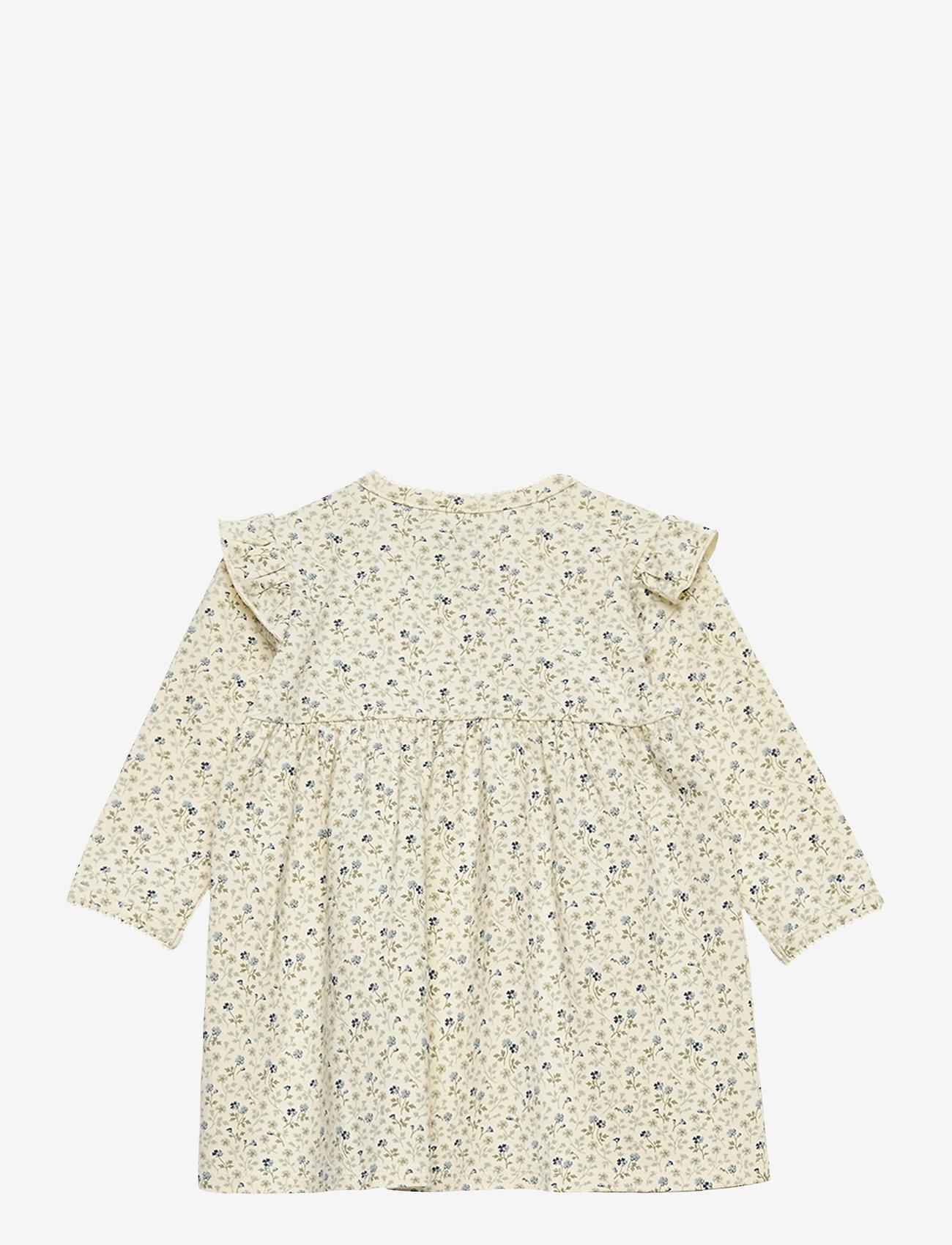 Petit by Sofie Schnoor - Dress - kleider - aop cream flower - 1
