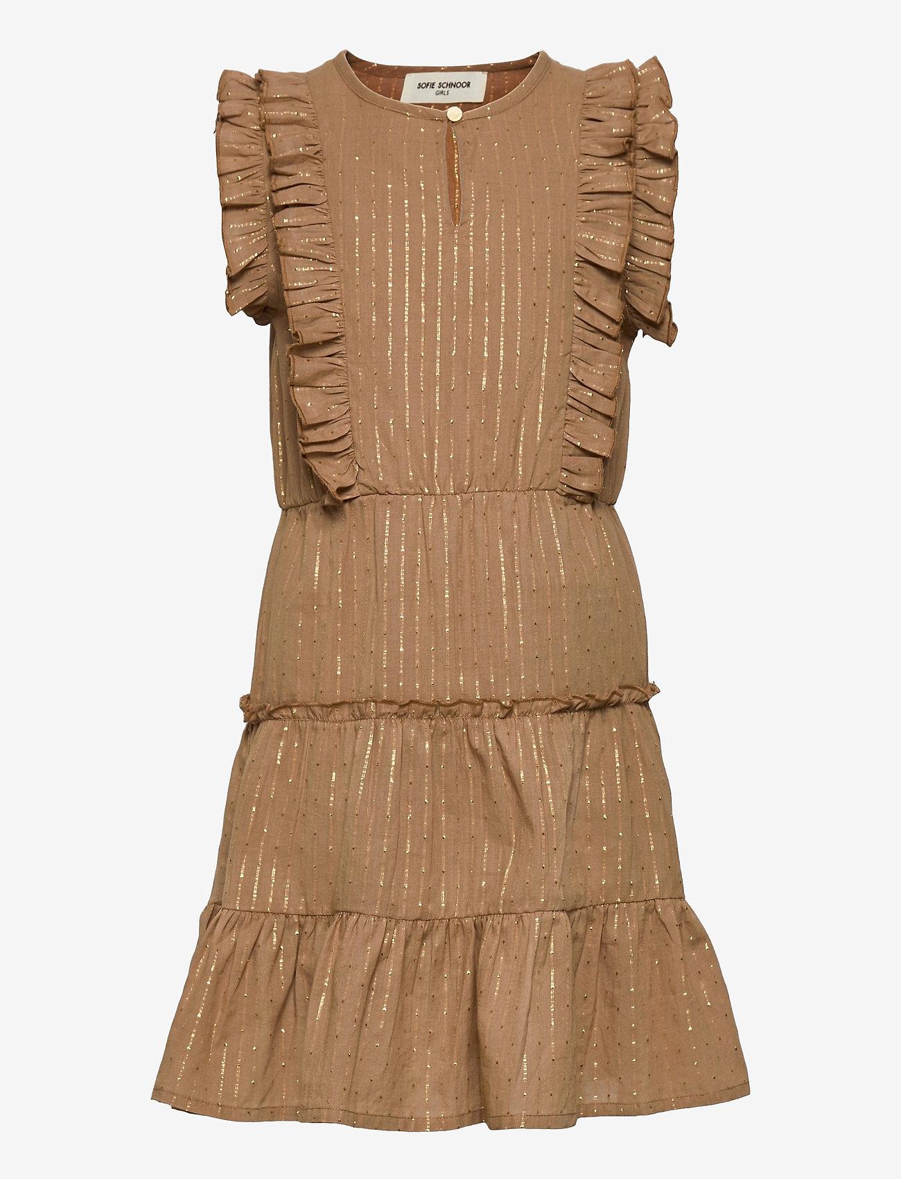 Petit by Sofie Schnoor - Dress - kleider - camel - 0