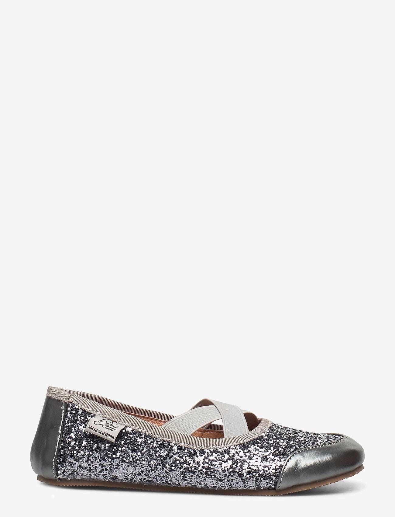Petit by Sofie Schnoor - Indoors shoe - glitter - hausschuhe - grey glitter - 1
