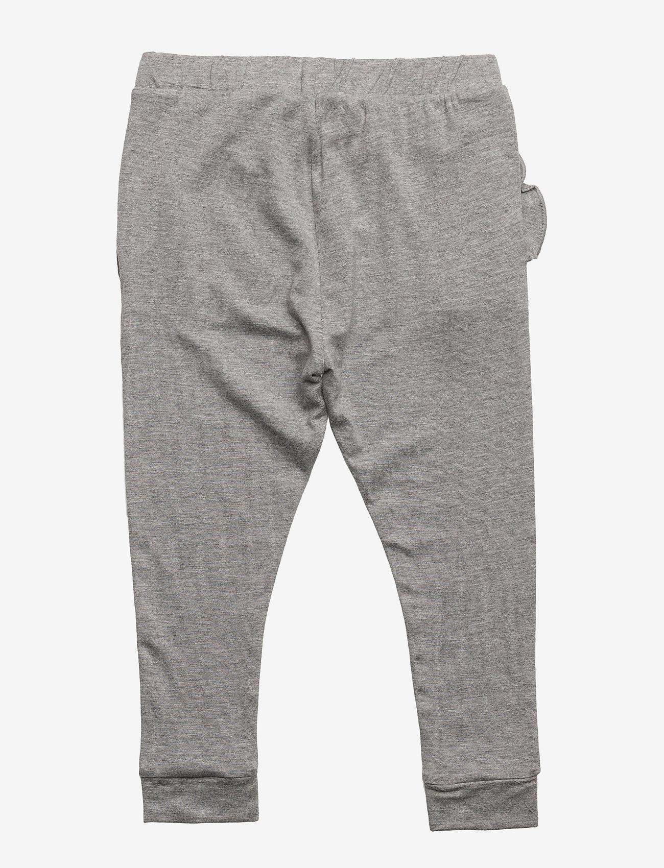 Petit by Sofie Schnoor - Pants - pantalons - grey melange - 1