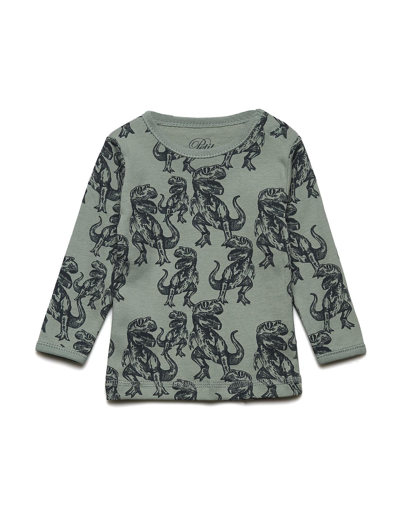 Petit by Sofie Schnoor T-shirt long sleeve - DINO PRINT