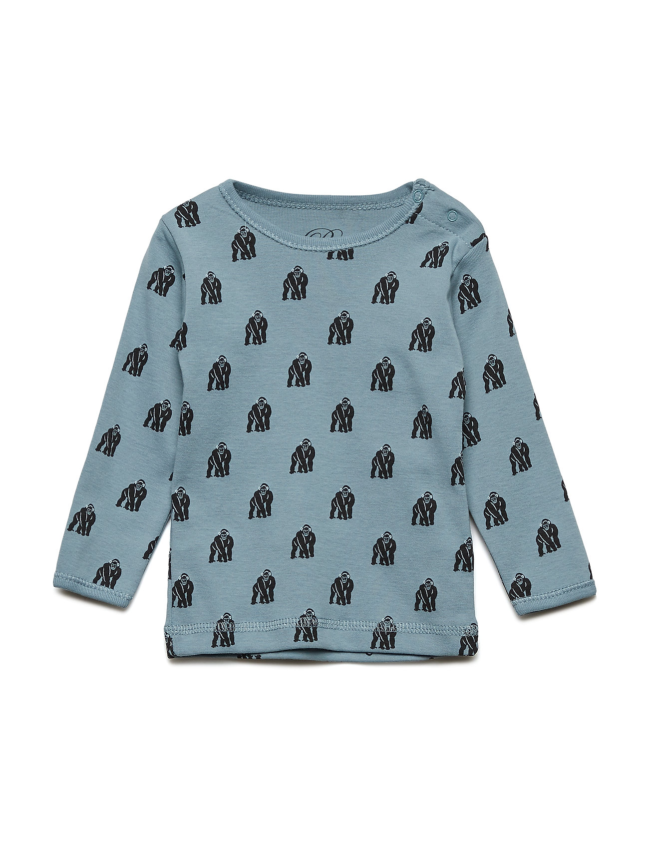 Petit by Sofie Schnoor T-shirt long sleeve - MONKEY PRINT