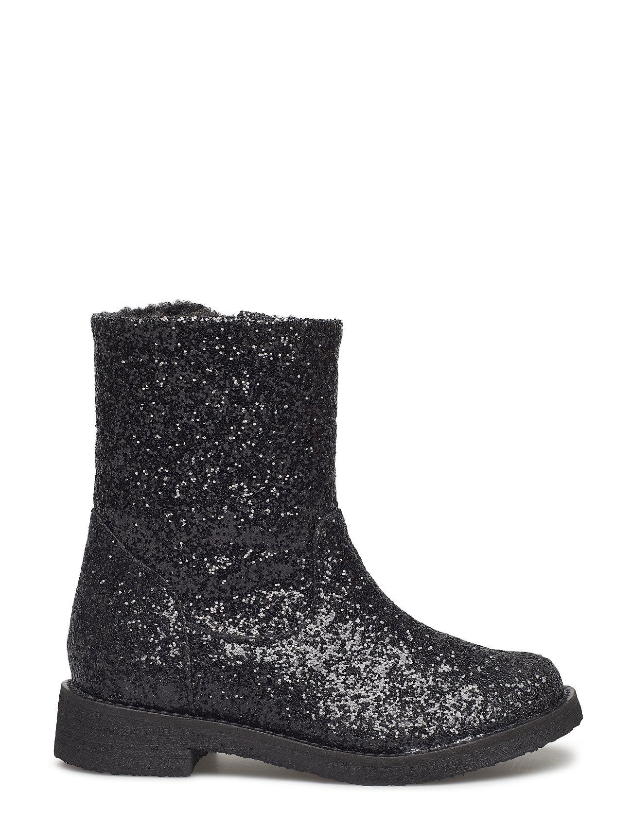 6eec0a9d1f1 Glitter Boot støvler fra Petit by Sofie Schnoor til børn i Sort ...