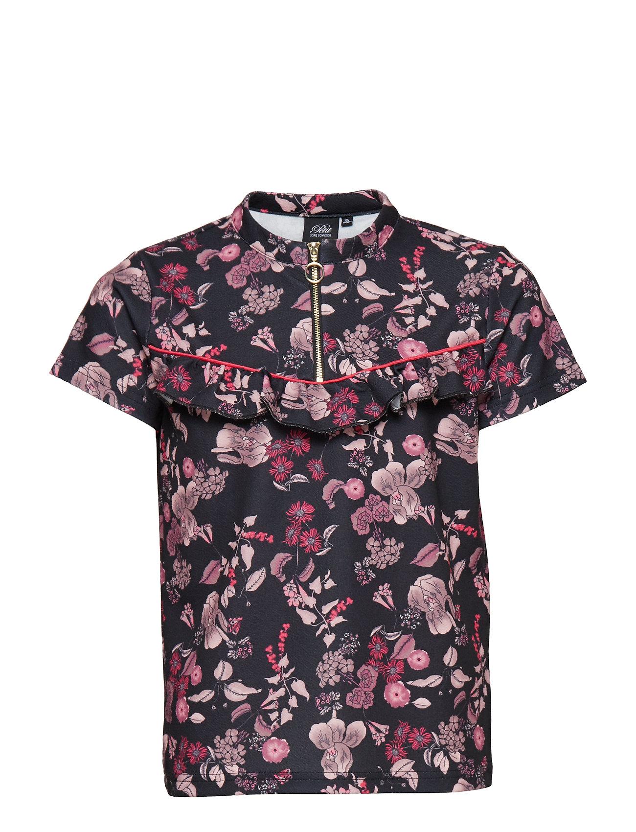 22f51cd77d7d Shirt Ss (Aop Black Print) (261.75 kr) - Petit by Sofie Schnoor ...