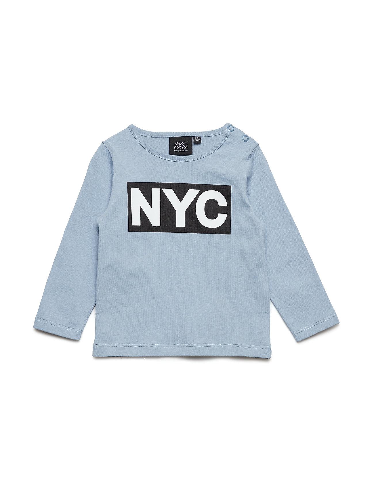 cd124db661e Blå Petit by Sofie Schnoor Shirt Nyc langærmede t-shirts & toppe for ...