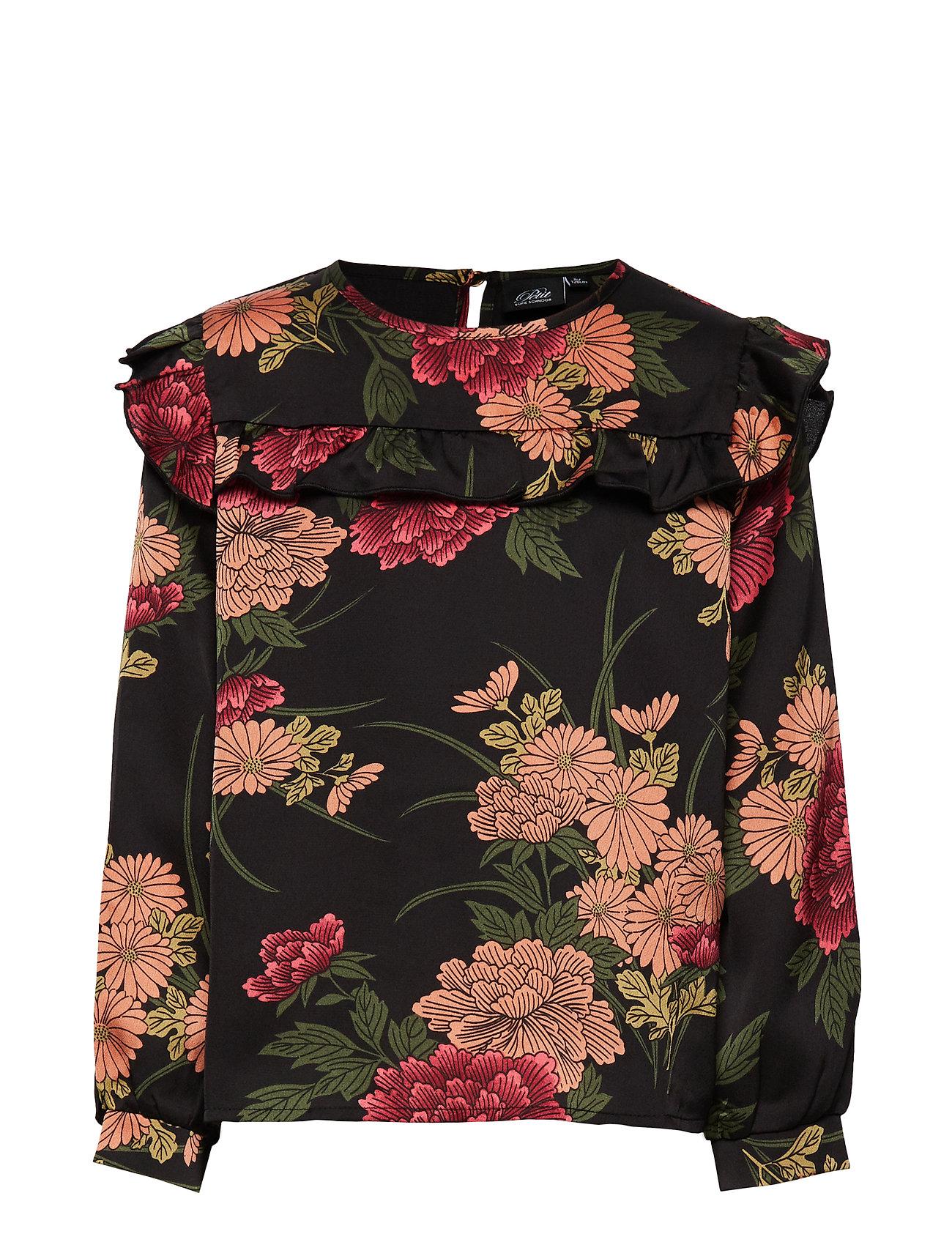 Petit by Sofie Schnoor Shirt - AOP FLOW BLK