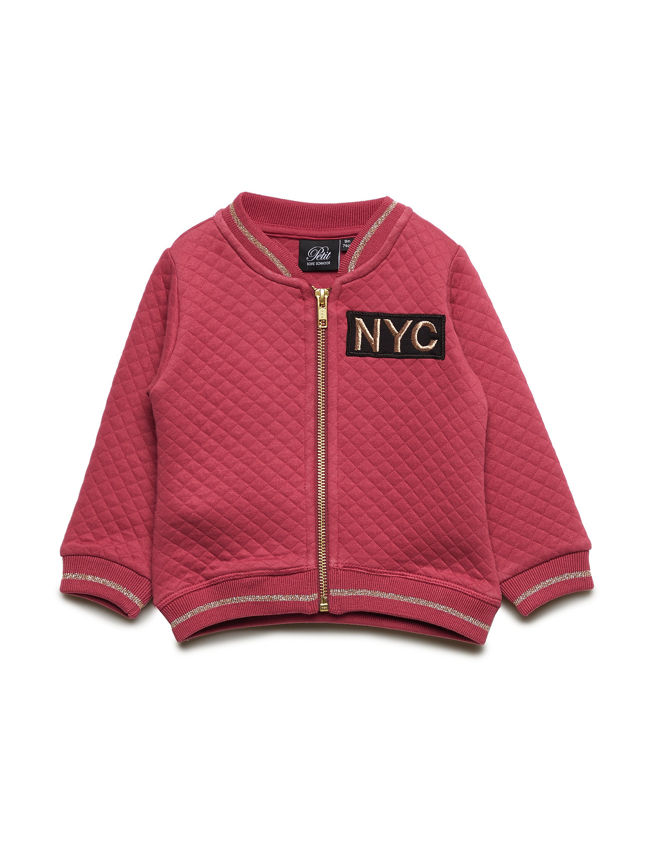 Petit by Sofie Schnoor Sweat jacket - EARTH RED
