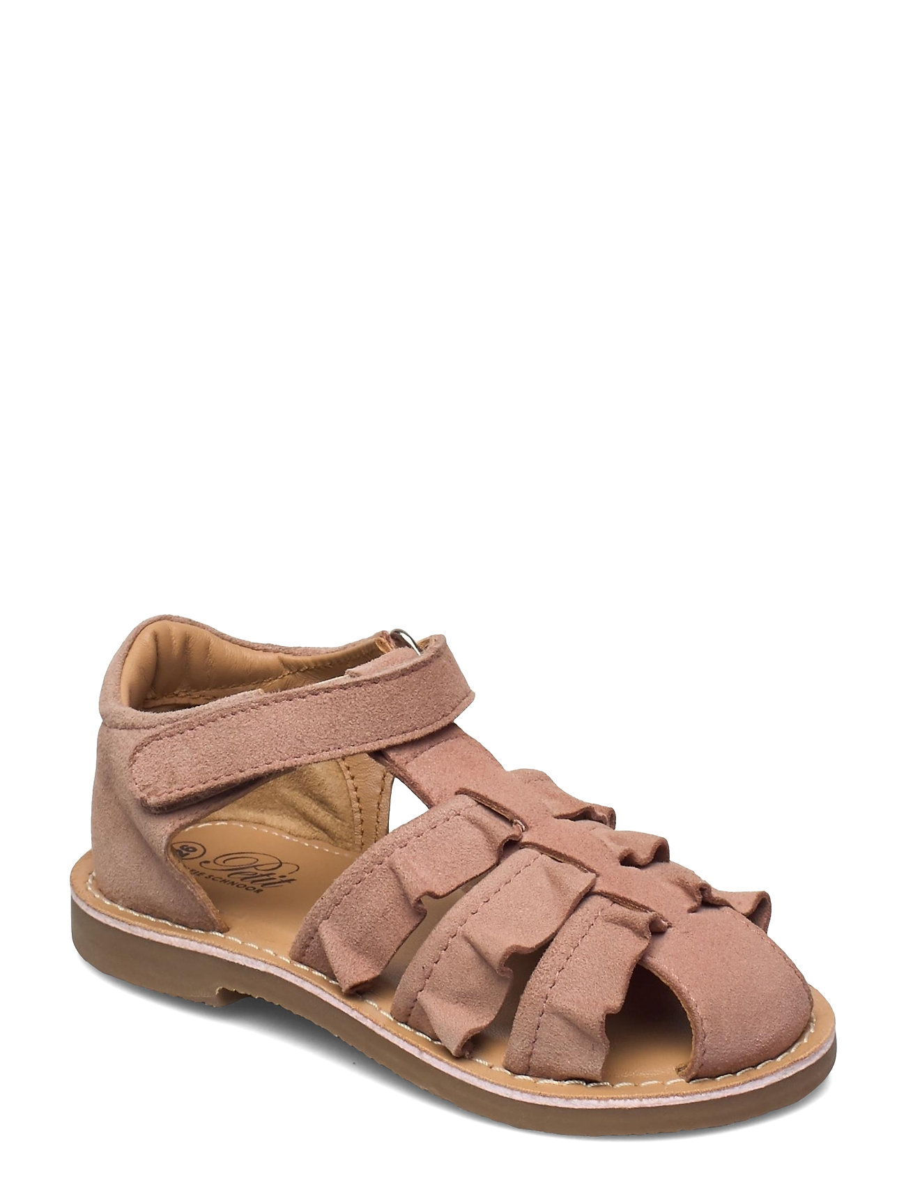 Sandal Suede Shoes Summer Shoes Sandals Lyserød Petit By Sofie Schnoor