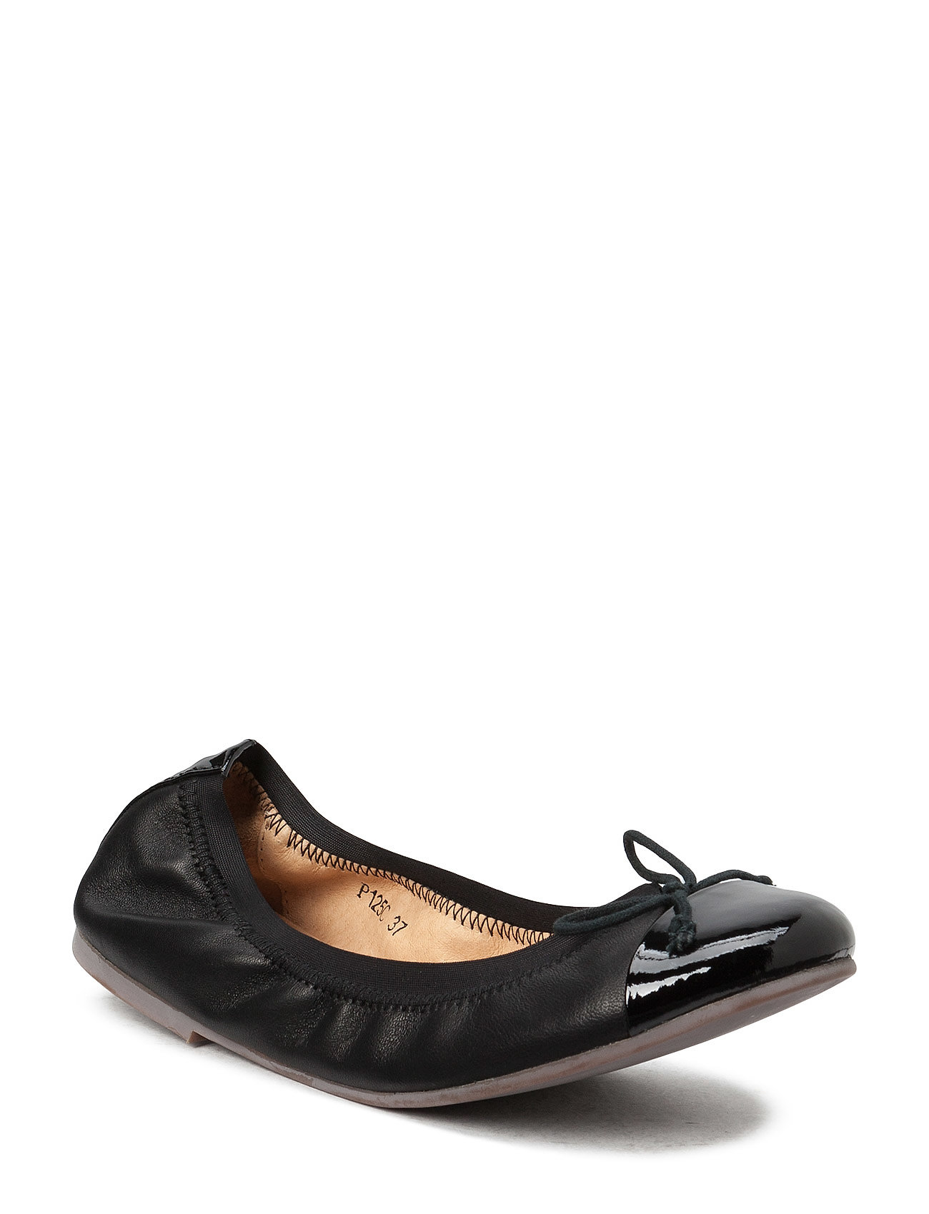 Petit by Sofie Schnoor Leather ballerina - BLACK