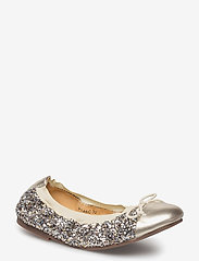 Petit by Sofie Schnoor - glitter ballerina - ballerinaer og slip-ons - mixed gold and champagne - 0