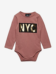 Petit by Sofie Schnoor - Body long sleeve NYC - langærmede - dusty rose - 0