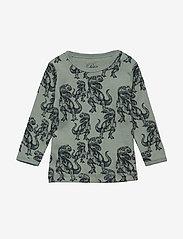 Petit by Sofie Schnoor - T-shirt long sleeve - langærmede t-shirts - dino print - 0