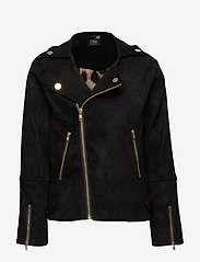 Petit by Sofie Schnoor - Jacket - leather jackets - black - 0