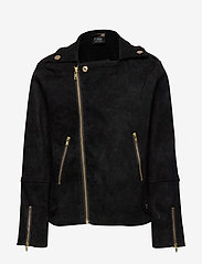 Petit by Sofie Schnoor - Jacket - leather jackets - black - 1