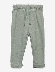 Petit by Sofie Schnoor - Pants - pantalons - light green melange - 0