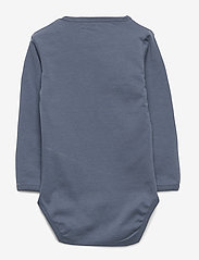 Petit by Sofie Schnoor - Body - kortærmede - washed dusty blue - 1