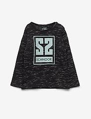 Petit by Sofie Schnoor - T-shirt LS - langærmede t-shirts - black mix - 0