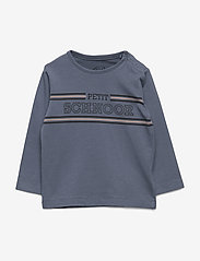Petit by Sofie Schnoor - T-shirt LS - langærmede t-shirts - washed dusty blue - 0