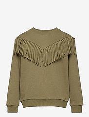 Petit by Sofie Schnoor - Sweat - sweatshirts - army green - 0