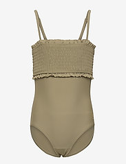 Petit by Sofie Schnoor - Swim suit - swimsuits - army green - 0