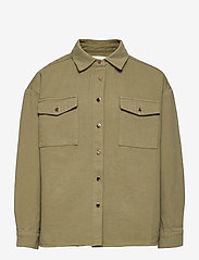 Petit by Sofie Schnoor - Blouse - shirts - army green - 0