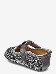 Petit by Sofie Schnoor - Baby glitter shoe 1 - ballerinaer og slip-ons - grey glitter - 2
