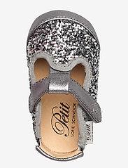 Petit by Sofie Schnoor - Baby glitter shoe 1 - ballerinaer og slip-ons - grey glitter - 3