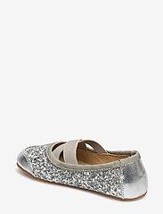 Petit by Sofie Schnoor - Indoors shoe - glitter - hjemmesko - silver - 2