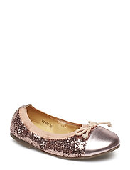 Glitter ballerina - DUSTY ROSE