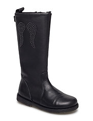 Leather boot TEX - BLACK