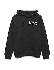 Sweat hoodie NYC - BLACK