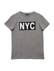 T-shirt short sleeve NYC - GREY MELANGE