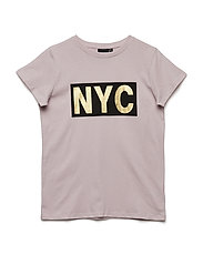 T-shirt short sleeve NYC - POWDER