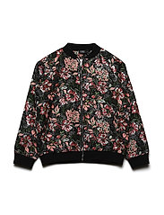 Jacket - BLK FLOWER
