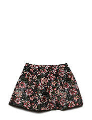 Skirt - BLK FLOWER