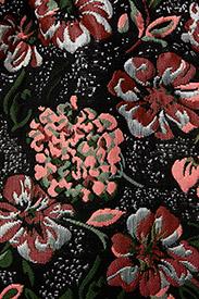 Petit by Sofie Schnoor - Skirt - nederdele - blk flower - 2