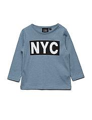 T-shirt long sleeve NYC - BLUE