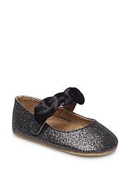 Shoe indoor - BLACK GLITTER
