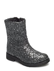 Glitter boot - ANTRACITE