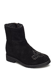 Boot w. rivet - BLACK