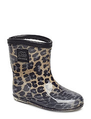 Rubber boot baby - LEOPARD