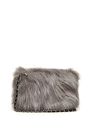 Bag fake fur - GREY