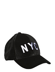 Cap velour - BLACK