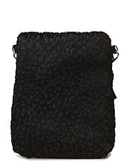 Bag cross fur leo - LEOPARD WITH BLACK