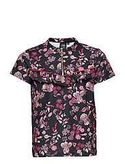 Shirt SS - AOP BLACK PRINT