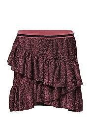 Skirt - PINK BLACK GLITTER