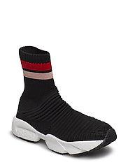 Sock sneak stripe - BLACK