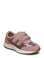 Velcro glitter - ROSE